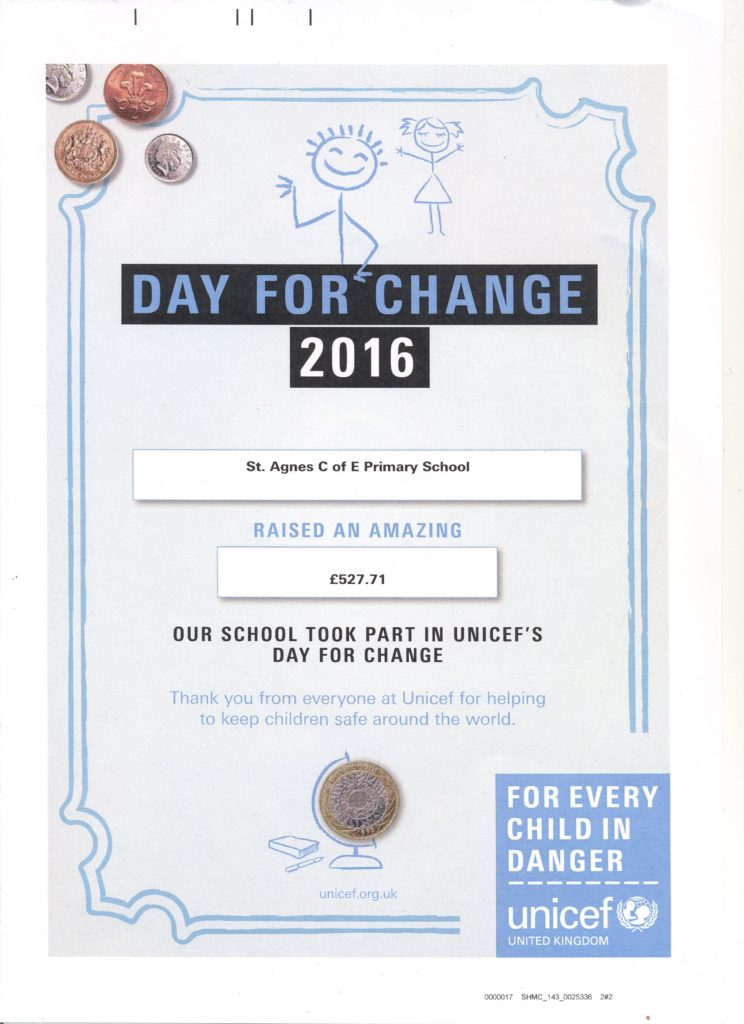 Day For Change 2016