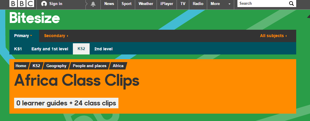 Image result for African class clips bbc