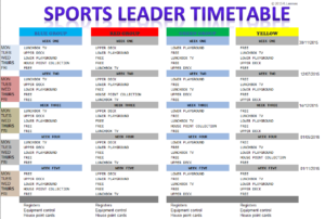 sports-leader-timetable