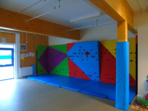 Climbing Wall In Hall 2