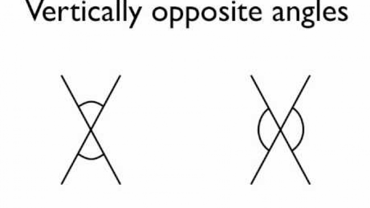 Maths- Vertically Opposite Angles